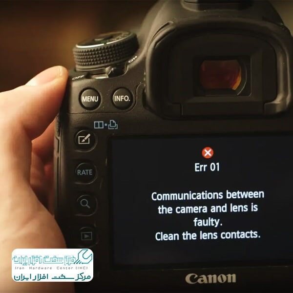 مشکلات رایج دوربین کانن
