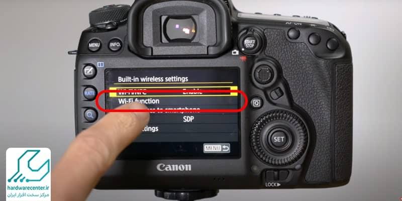 اتصال دوربین به گوشی با وای فای