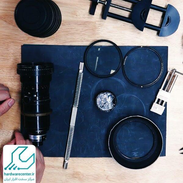 مشکلات لنز دوربین های دیجیتالی