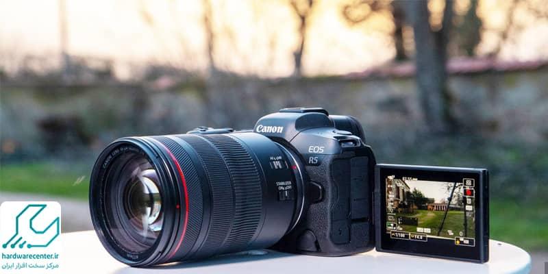 روش تشخیص و رفع سوختگی پیکسل دوربین کانن