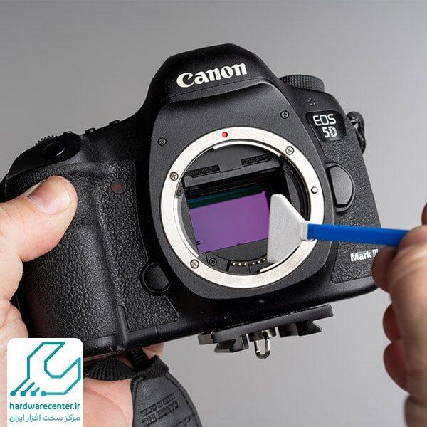 آموزش تمیز کردن سنسور دوربین کانن